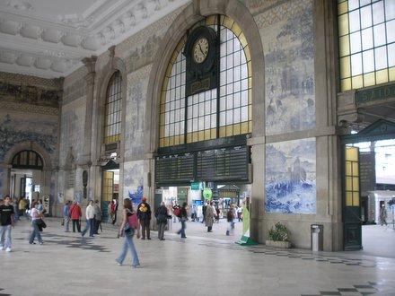 Estación de Sao Bento Oporto