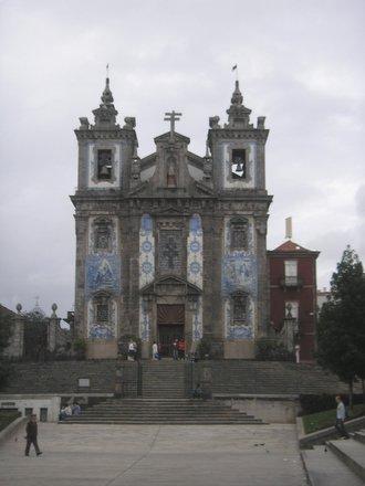 Iglesia Santo Ildefonso Oporto